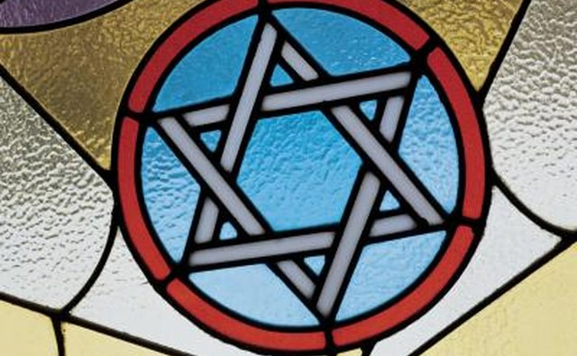 The Jewish Star of David, a symbolic image for Jewish people.
