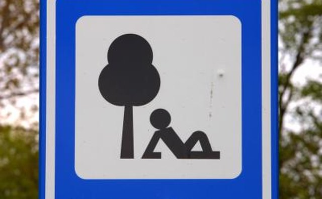 This road sign is a pictogram meaning