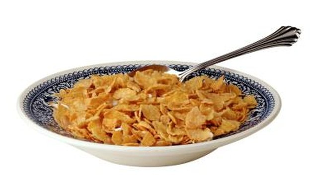 Take the iron out of your cereal as you take the bad thoughts out of your mind.