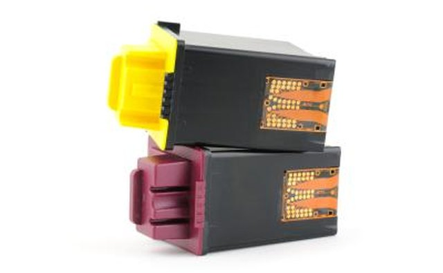 Inkjet printer cartridges.