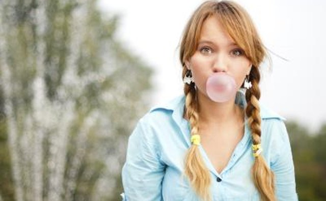 You can use chewing gum or candy to teach the lesson.