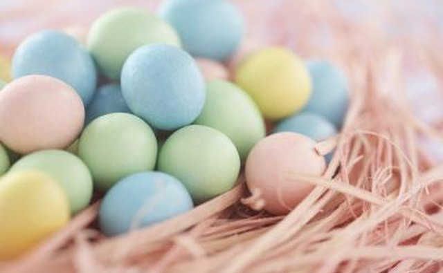 Another egg coloring story involves Mary Magdalene carrying a basket of eggs while on her way to anoint Jesus with oil.