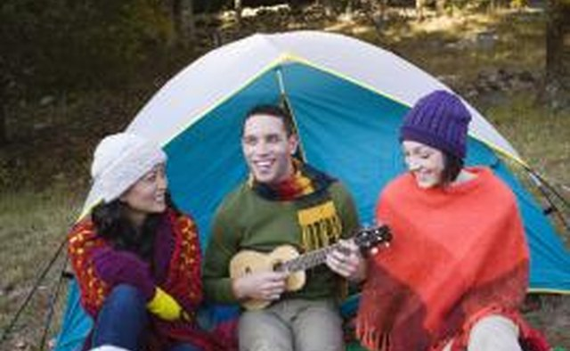 Road trips let teens sing worship songs around campfires.