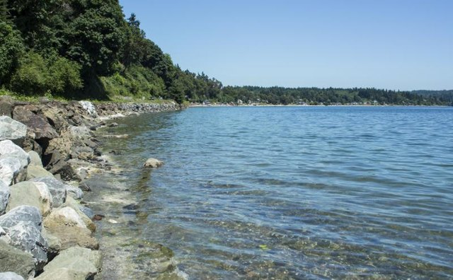 Puget Sound has several marine areas.