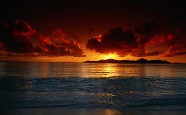 describe sunset essay