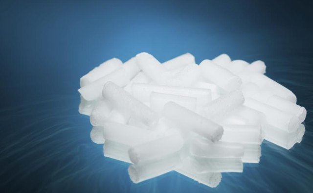 Though it's less common, you can sometimes purchase dry ice in pellet form.