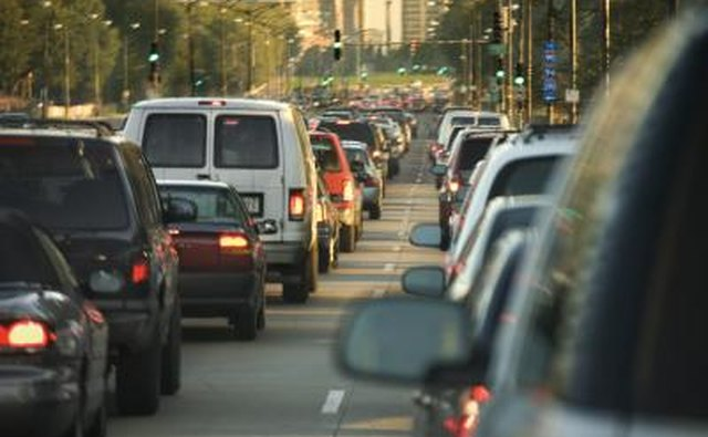 Traffic problems and general anxiety contribute to an increase in mental health disorders in highly populated urban areas.