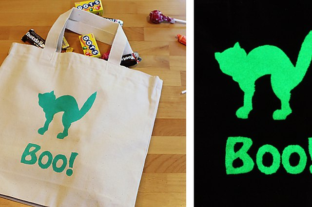 Make It: Glow in the Dark Trick-or-Treat Bags