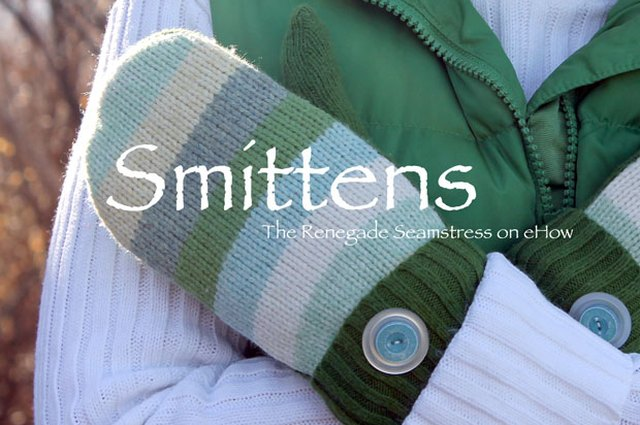 "Sweater to Mittens = ""Smittens"""