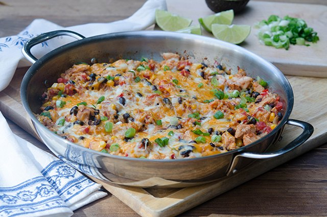 Tex-Mex Chicken and Rice Skillet