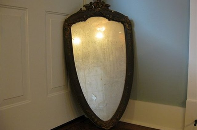 Salvage an Old Mirror