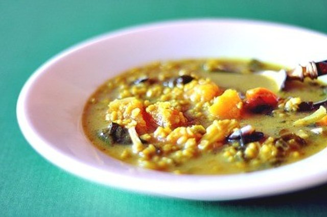 Mung Bean and Butternut Squash Stew