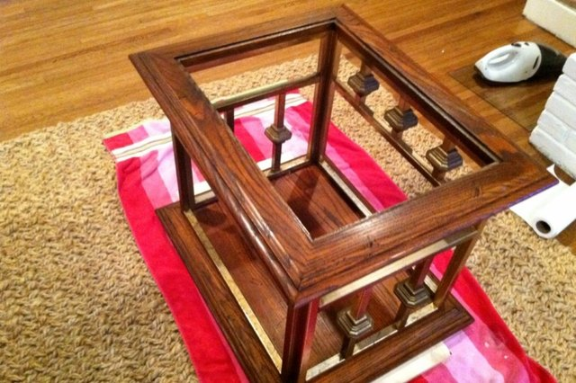 Trash to Treasure: Thrift Store Table