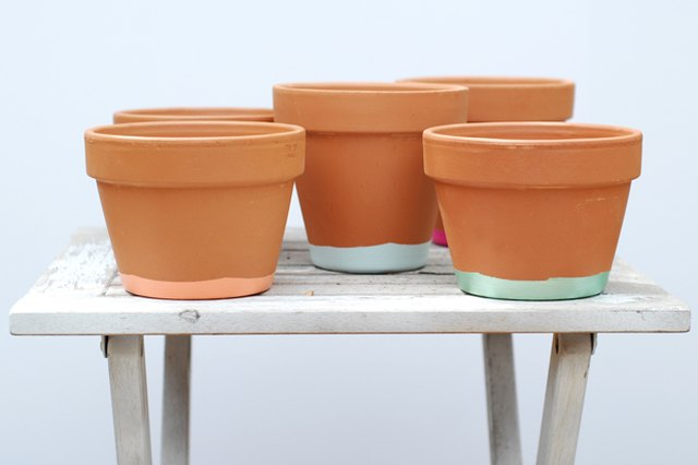 Gussy Up Your Patio with Some Stylish Hand-Painted Pots