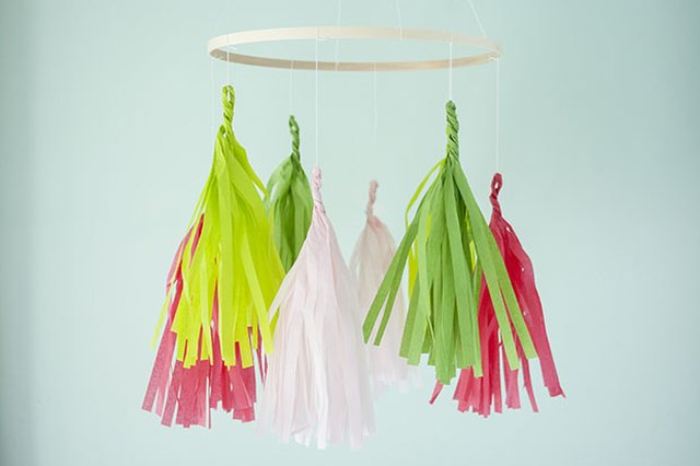 DIY Tassel Mobile Fit for Your Baby's Nursery