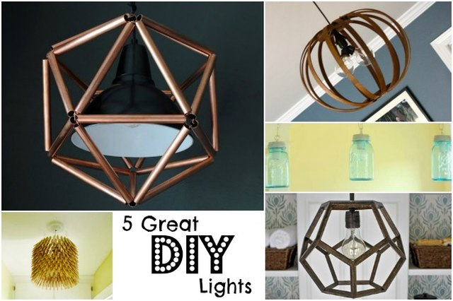 5 Great DIY Light Fixture Ideas