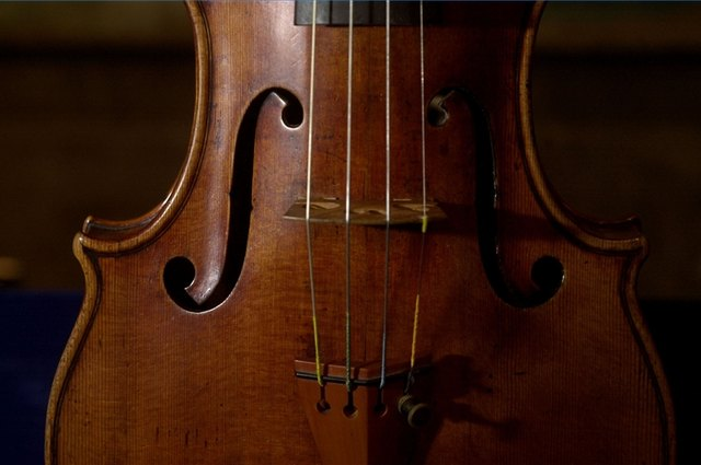 "Violins are true works of art. This Stradivari, known as ""The Taft,"" was made by Antonio Stradivari in 1700. It sold at a Christie's auction in 2000 for $1.326 million, a record a the time."
