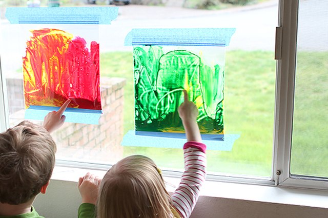 Mess-Free Art: Stained Glass Window Painting
