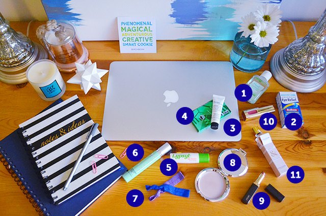 Your 9-5 Survival Kit: 11 Beauty Essentials to Keep at Your Desk