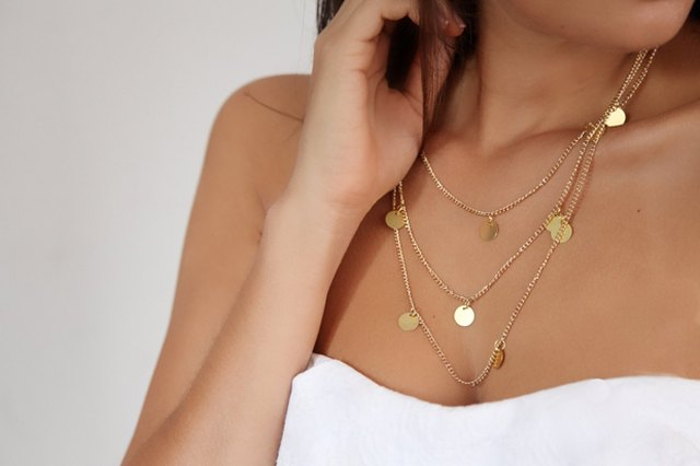DIY Delicate Charm Necklace