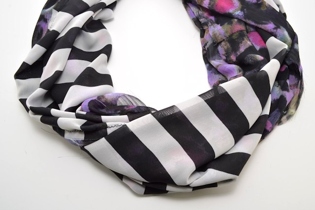 How to Make a Mixed-Print Infinity Scarf