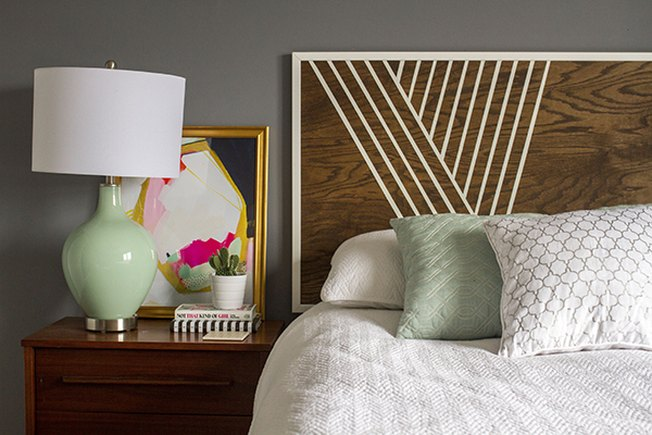 [Article Image] - How to Make a Modern Headboard