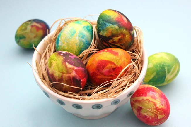 [Article Image] - How to Tie Dye Easter Eggs
