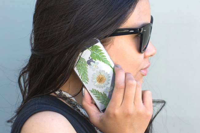 [Article Image] - Pressed Flower Phone Case