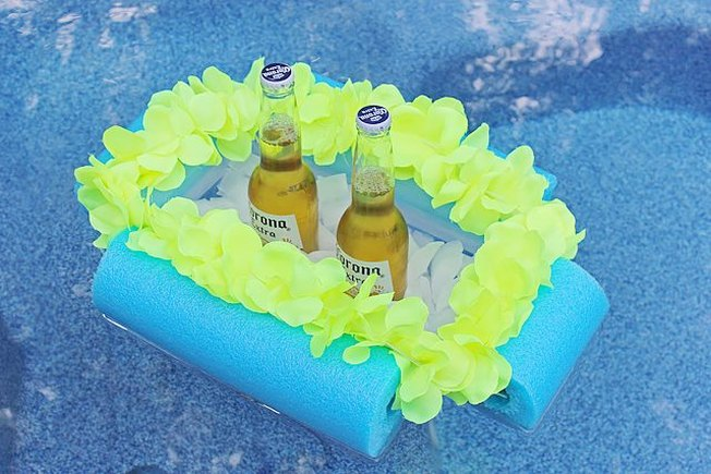[Article Image] - How to Make a Floating Beverage Boat