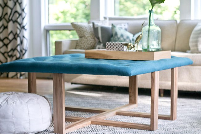 [Article Image] - How to Build an Ottoman Coffee Table