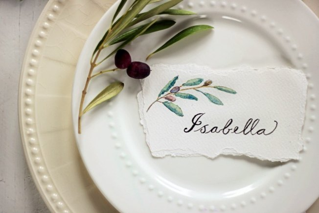 [Article Image] - Set the Table: DIY Place Cards