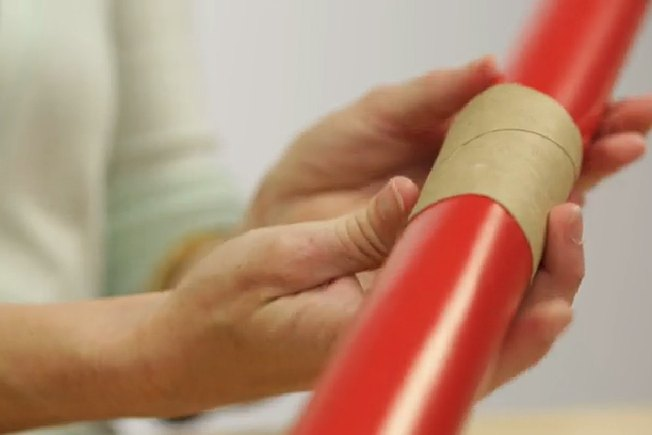 [Article Image] - Keep Wrapping Paper From Unrolling