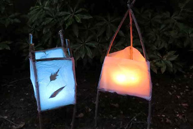[Article Image] - DIY Winter Solstice Lanterns