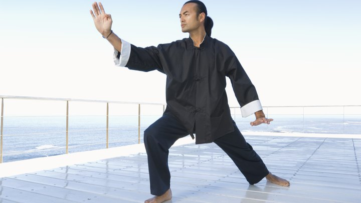 "The ancient Chinese martial art of Tai Chi has sometimes been referred to as a moving meditation because of its flowing, gentle movements and focus on remaining present. Tai Chi's proponents have long lauded the practice for its mental and physical benefits, such as decreased stress, a stronger immune system and increased flexibility. However, A 2009 study published in the ""Arthritis & Rheumatism"" journal indicates that Tai Chi also reduces physical impairment and pain in the knees."