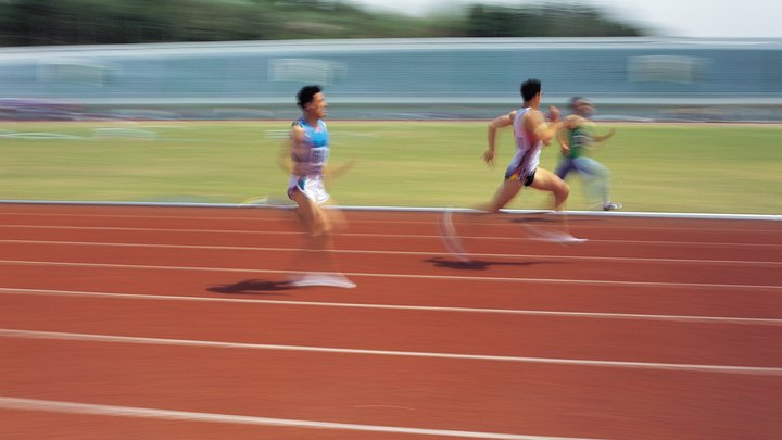 Until the late 1970s, most U.S. states featured the mile run at track meets, whereas the 1,500 meters has always been the equivalent Olympic distance. Because most outdoor tracks are now 400 meters long rather than 440 yards, it is more convenient to run 1,600 meters -- only 9.3 meters, or roughly two seconds, shy of a mile -- than these other distances. As a result, the event has flourished, replacing the mile at many meets.