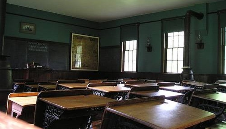 The History of School Desks