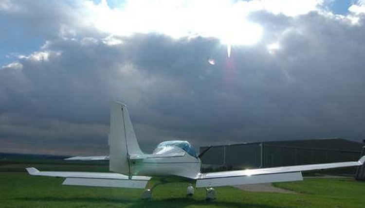 Polaris Plane Waiting for Sunshine