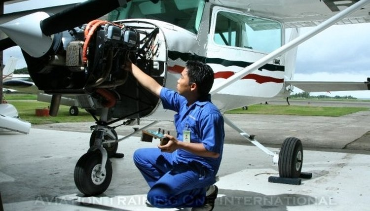 become an Aircraft Maintenance Engineer