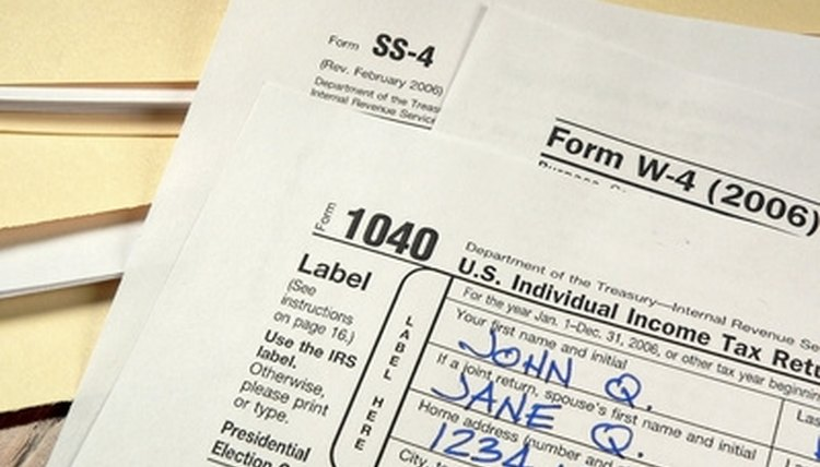 Form 1040 is the primary tax filing form.