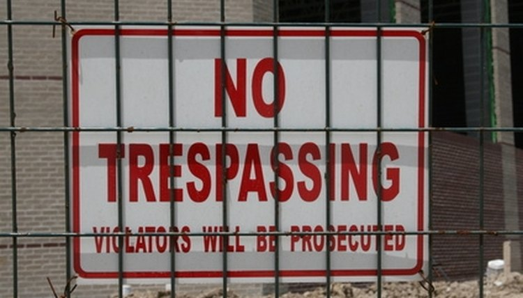 Maryland trespassing laws can be applied in both civil and criminal court cases.