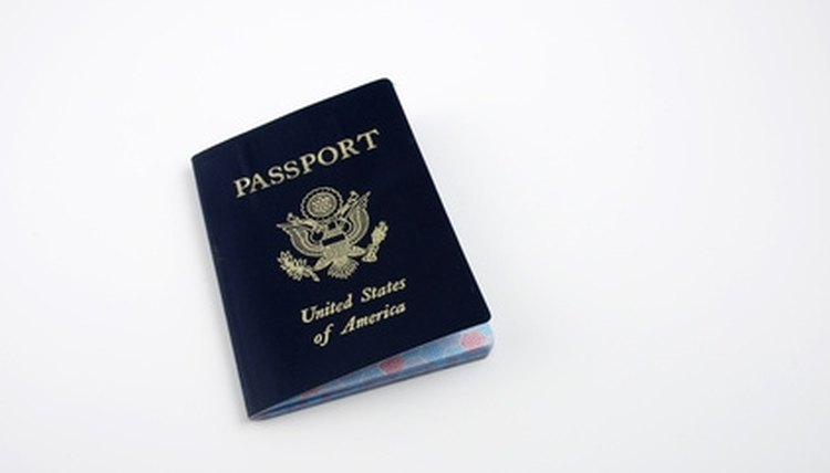 U.S. passports have a blue cover.