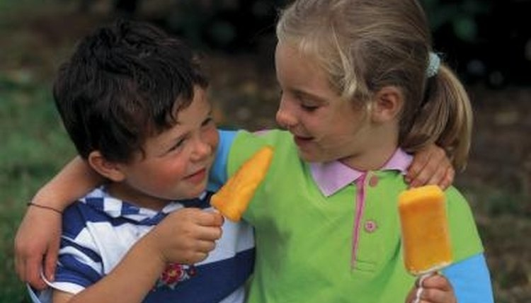 Sharing is a part of the Golden Rule preschoolers can grasp.
