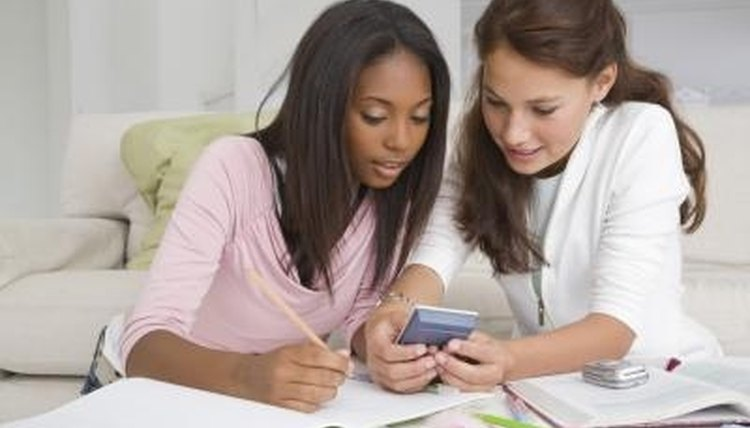 Identify friends who can help tutor you when you get stuck.