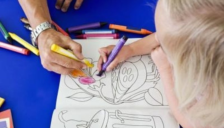 Crayons are used for more than just coloring.