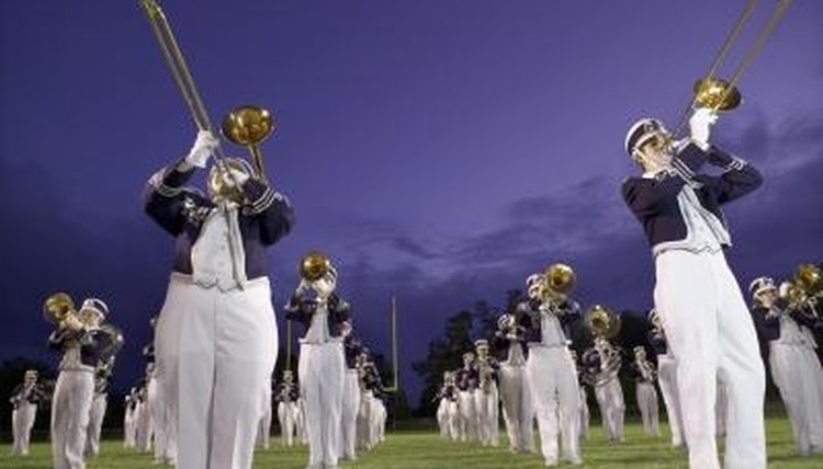 Invite the band to play during the senior night football ceremony.