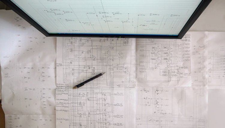 Most patent applications require schematic drawings.