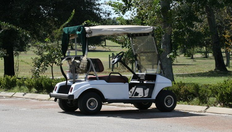 Some Arizona residents like to use golf carts to run errands.