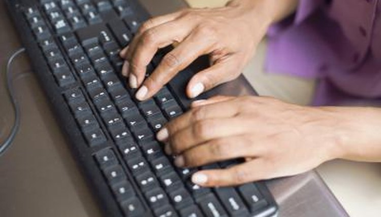 Proficiency in typing can help students improve their grades.