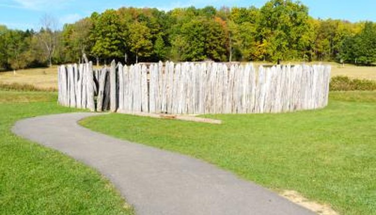 Fort Necessity in Pennsylvania was the base for an early campaign in the French and Indian War.