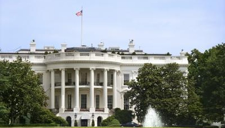 Legislative bills go to the White House to be signed by the president before becoming law.